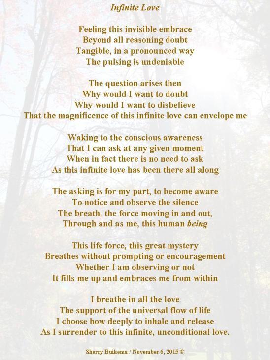 Infinite Love Poem