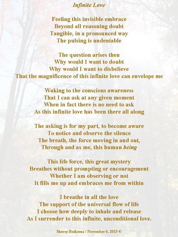 Infinite Love Poem